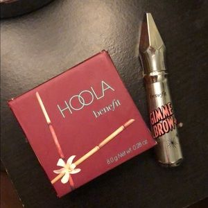 Benefit Hoola Bronzer & Gimme Brow